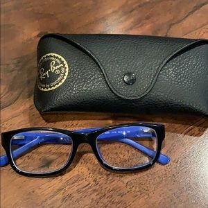 Ray-Ban Accessories - Ray Ban Women's Blue/Black Frames
